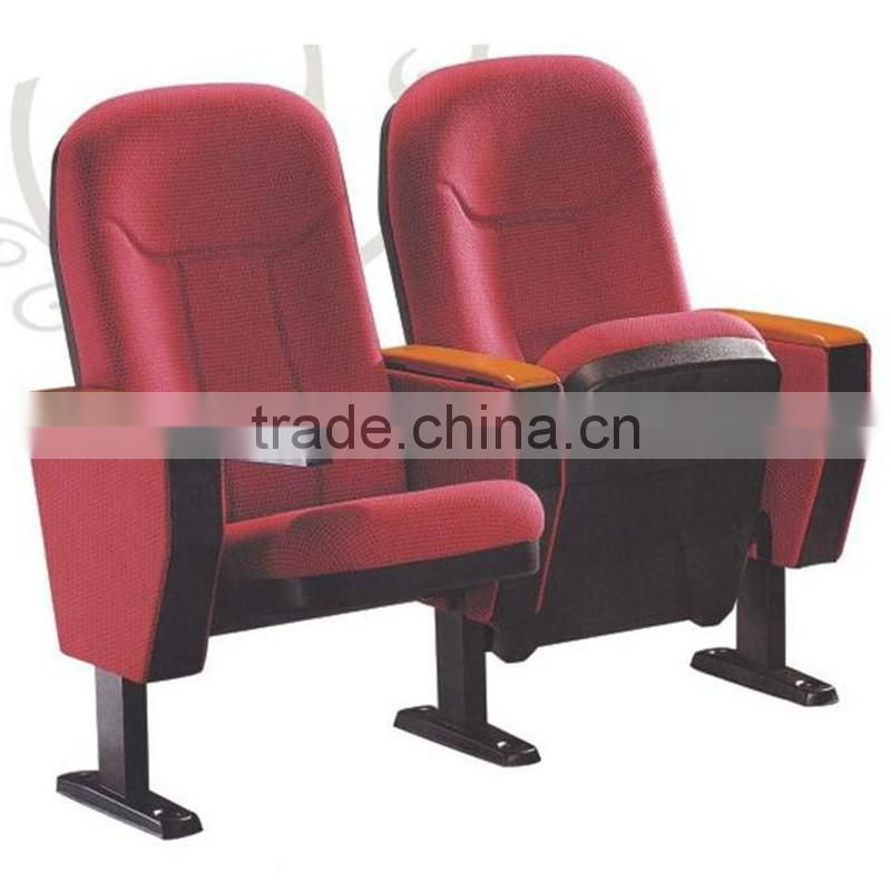 Red assembly hall chair 219C
