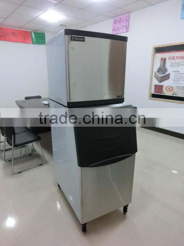 Best Sell stainess steel commercial ice making machine, cube ice maker