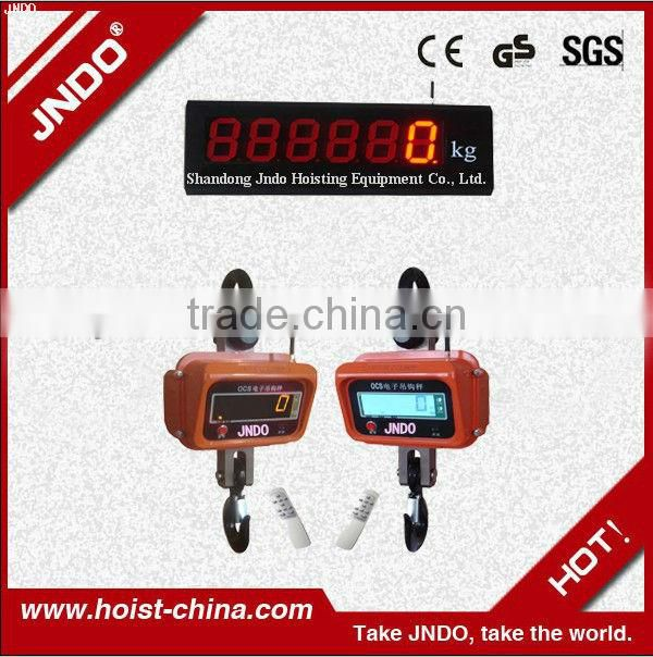 2013 Hot Sell Electric Crane Scale