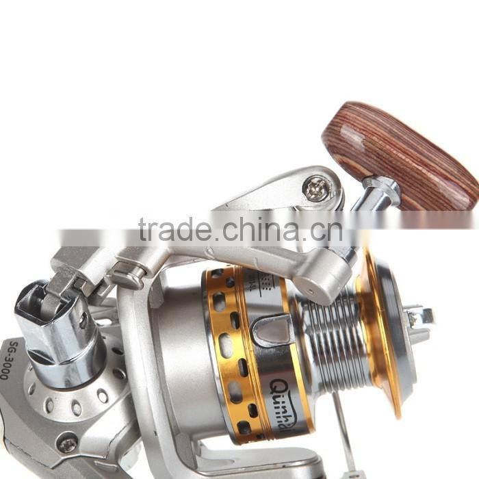 High Quality Spinning Fishing Reels with 6BB Ball Bearings Left/Right