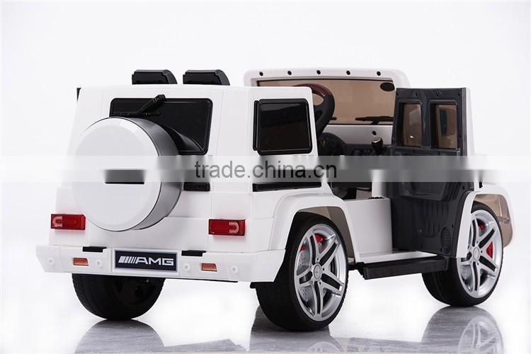 licensed ride on cars for kids Mercedes benz G55 12V official authorized baby car with music