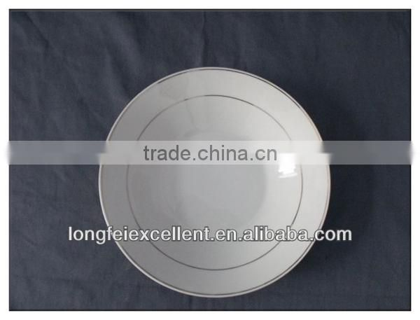 New-style porcelain plate Ceramic plate dinner plate China wholesale