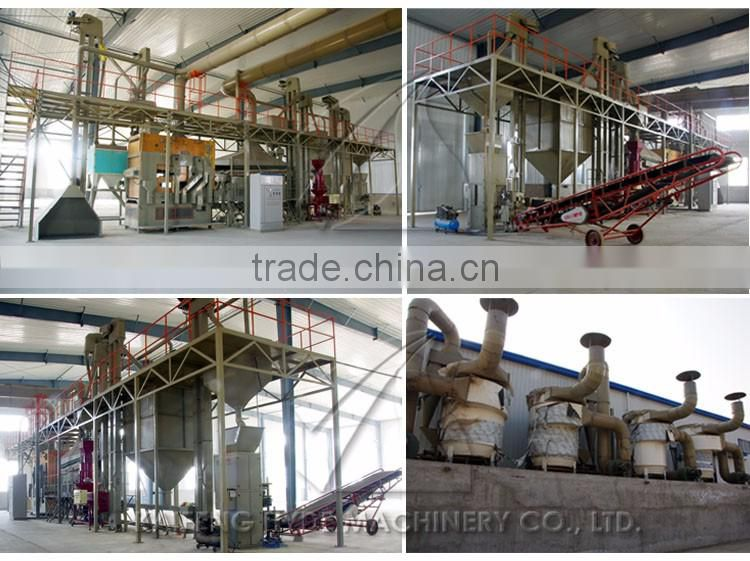 Grain depot 10 t/h wheat seed processing plant equipment