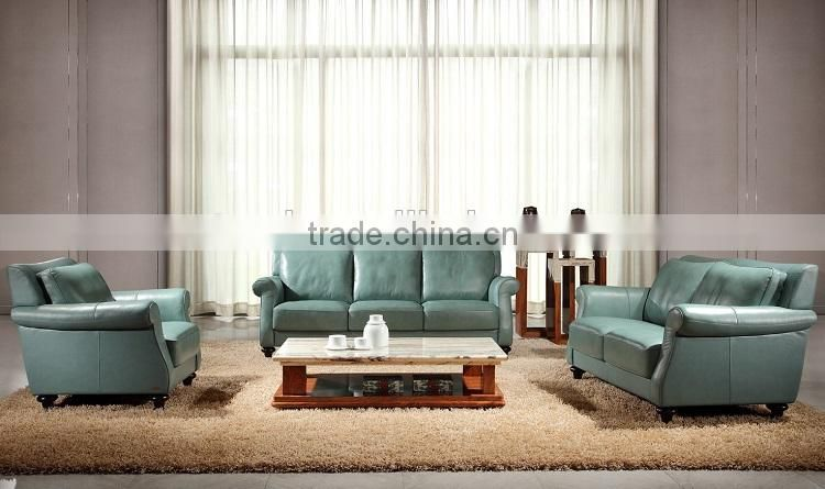 high quality top grain leather 12 3 sectional sofa