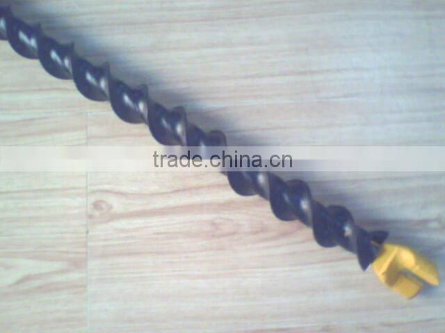 High efficient pipe drill rod