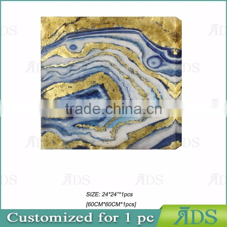 Popular Modern Handpainted abstract art painting of natural stone texture