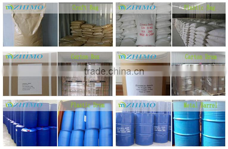 high purity zirconia beads for paint milling