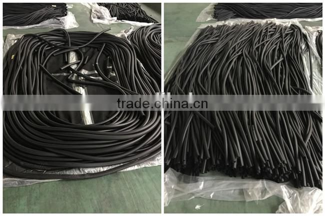 Latest technology big diameter soft rubber hoses for air conditioner