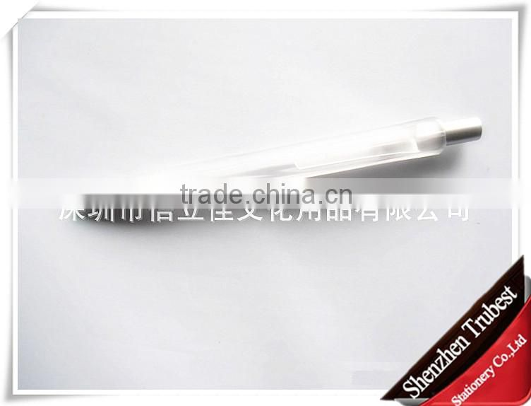 transparent pens, plastic promotion ballpoint pen