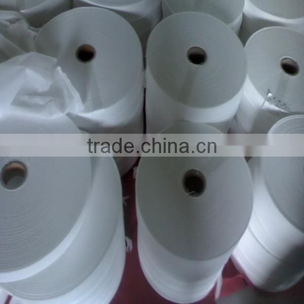 Economic spunlace nonwoven fabric for high quality wet wipe
