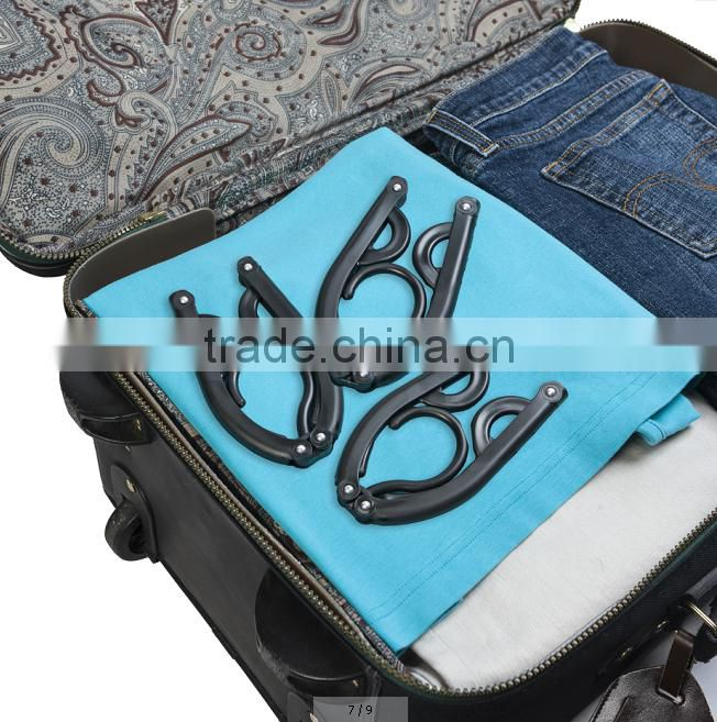 PP Folding packable travel hanger space save