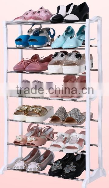 10 TIER BRACKET SHOE RACK CHEAP FOR 20PAIR SHOES EASY ASSEMBLE