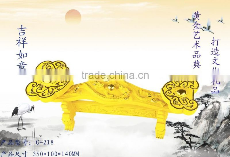 24K Gold Plated Ruyi Art Gifts - all the best
