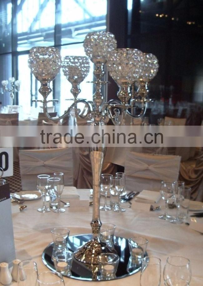gold plated hot sale candelabra