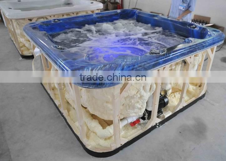 Hotsell wholesale bath swim pool luxury plastic bathtub for adult