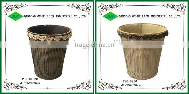 Wholesale China supplier paper craft cheap waste woven seagrass storage basket