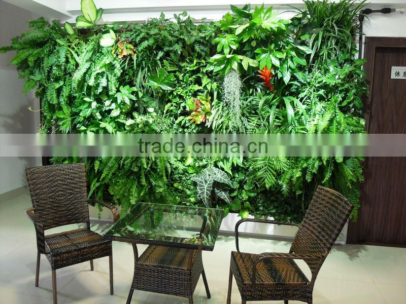 artificial plant wall vertical wall garden