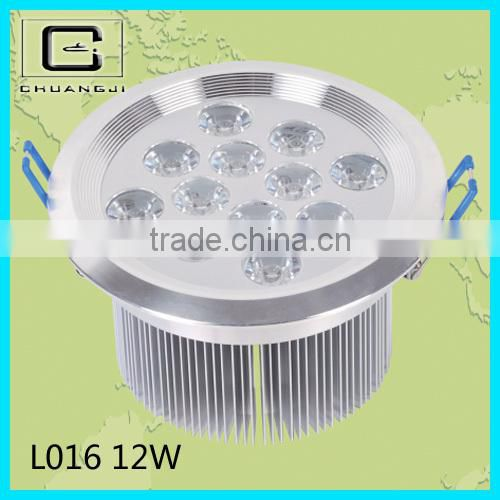 high power high quality 6w led square ceiling light