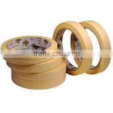 high temp sticker paper / self adhesive crepe paper tape