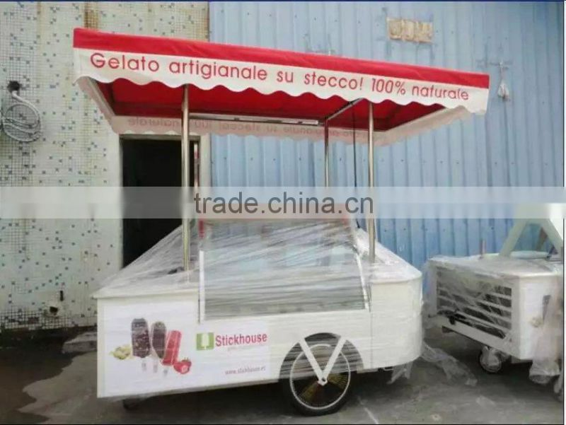 Newest ice cream vending carts/food truck/ice cream car