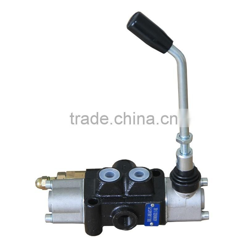 Electric forklift multi - way valve