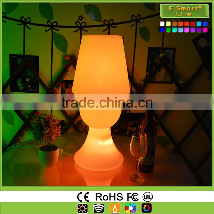 Colorful Rechargeable Battery led Table Lamps,battery Powered cordless led Table Lamps,battery operated led table lights wholesa