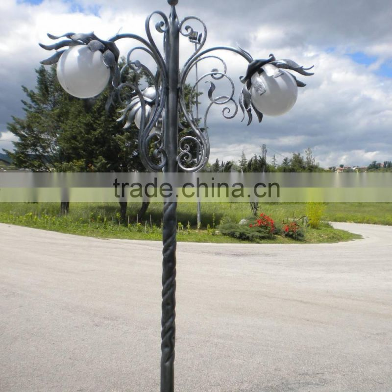 Beautiful metal design pop street lamppost pole NTILP-018Y