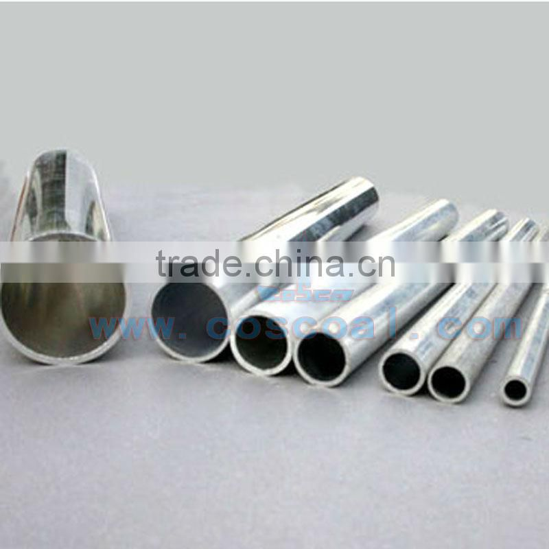 polished aluminum extrusion profiles tube