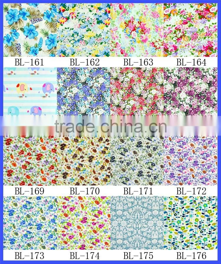 wholesale 100% cotton fabric fabrics for shirt women dresses