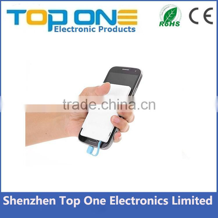 Top selling products portable credit card power bank 2600mah