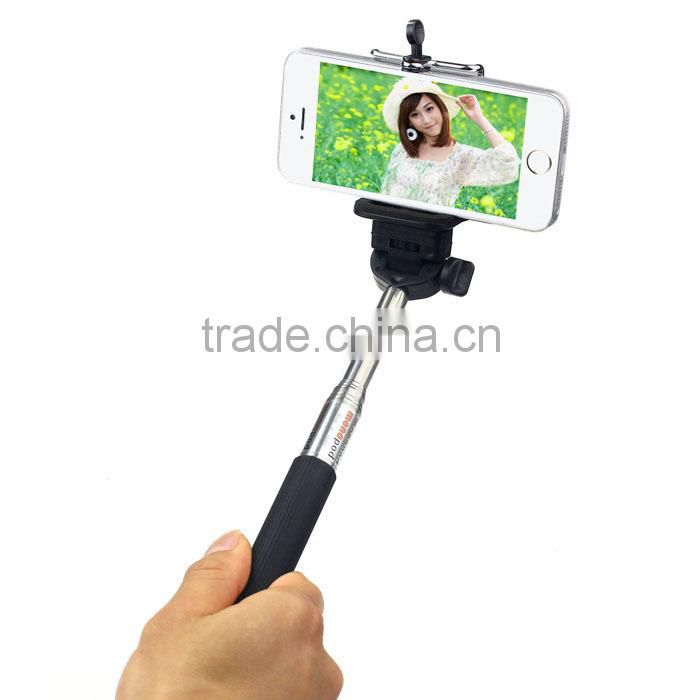 2014 Best selling selfie stick with remote , selfie stick monopod for phone