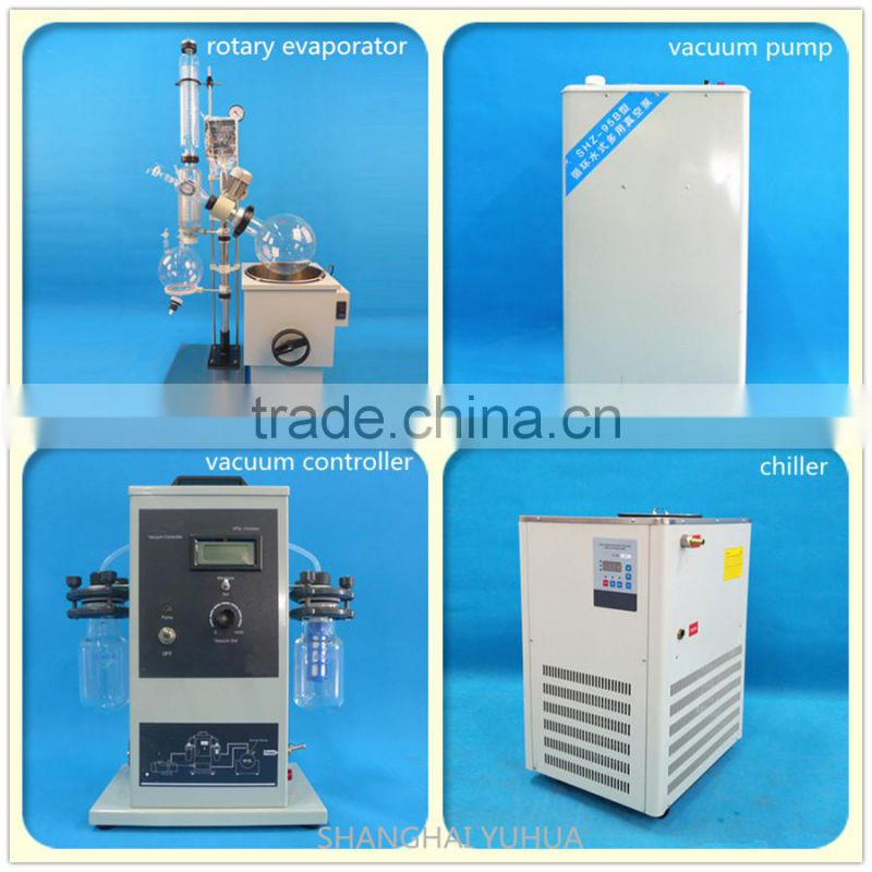 Laboratory rotavapor for vacuum distillation