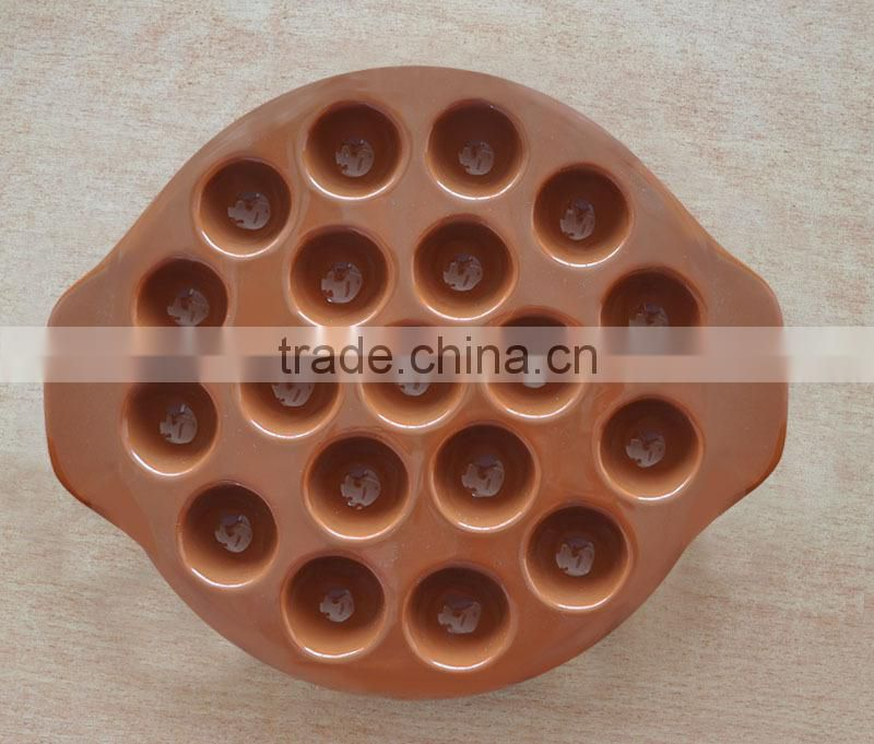 Oval Shape Ceramic Cheese Plate,Solid Color