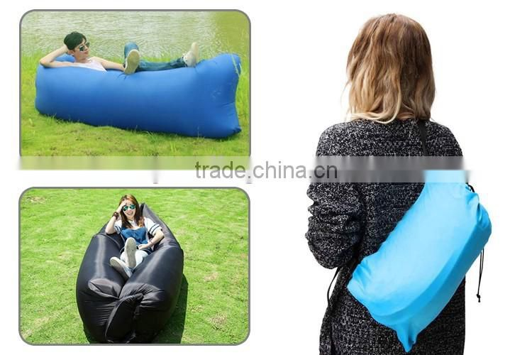 China Factory Oem Cheap Inflatable Sofa Beach Sun Lounger