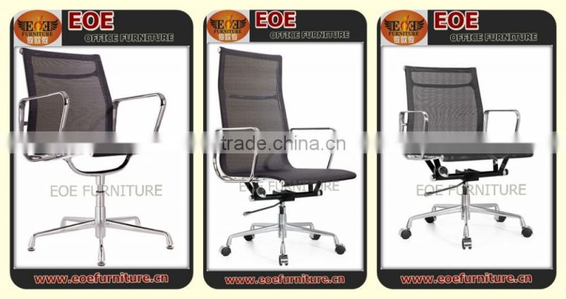 Office supply leather chair stainless steel