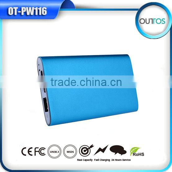 Super-thin external power bank 4000mah for mobile phone, samsung,mobile