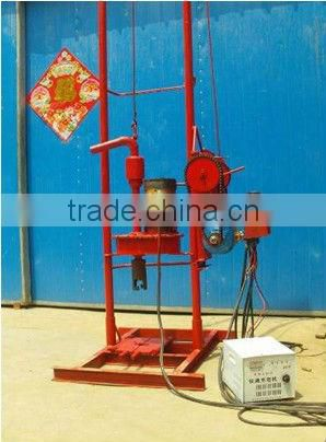For water well drilling,drilling rigs auger HF150E drilling rig machine, can drill 100m depth,,easy operation