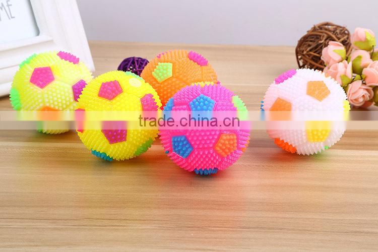 wholesale price Mini Foam Soccer flashing bouncing ball/ Stress Squeeze Balls