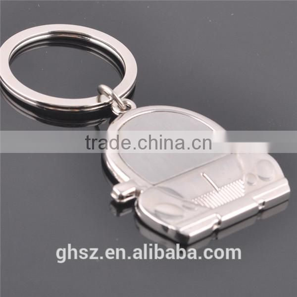 Factory price fish shape car keychain supplier