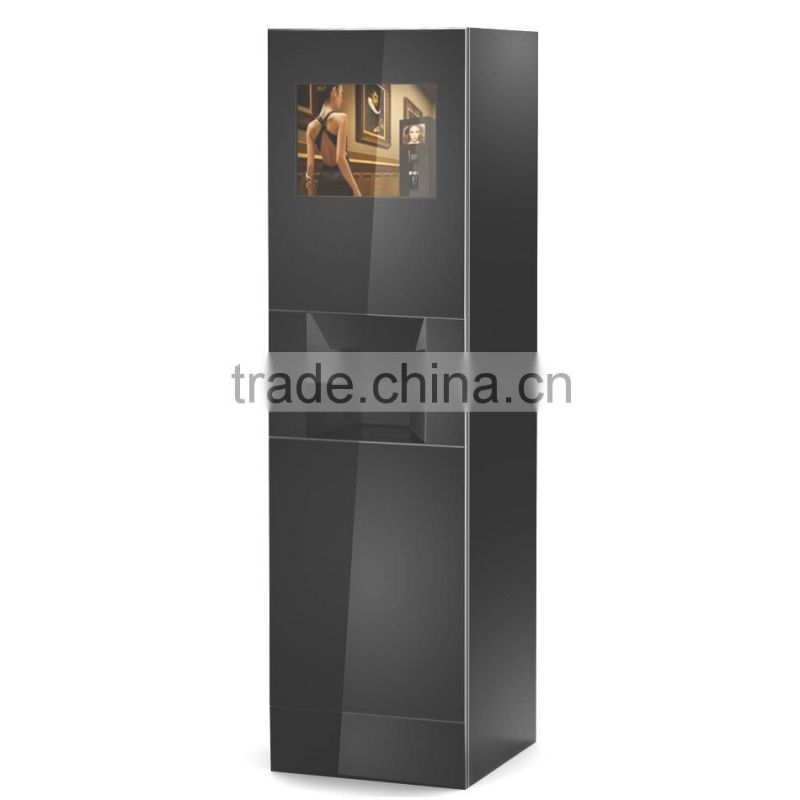 FS170 2 x FB4C free standing bean to cup fresh coffee maker tea coffee vending machine automatic