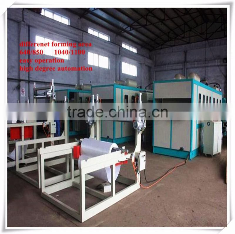 high efficiency ps foam food container making machine