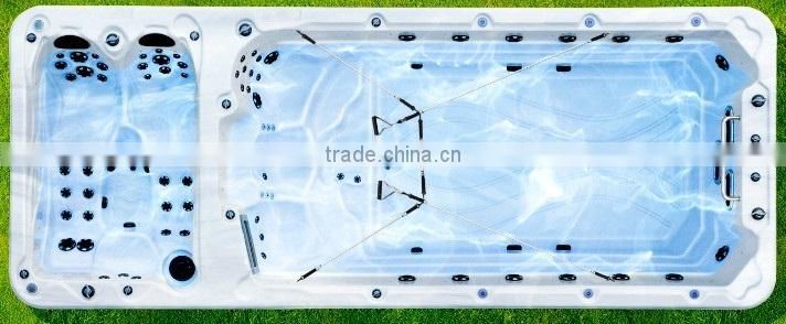Sparelax outdoor whirlpool bath hot pool with plastic surf pool for sales