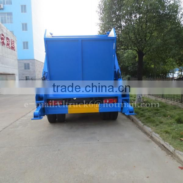 DONGFENG 4*2 Skip Refuse Truck 8 m3 with Bucket