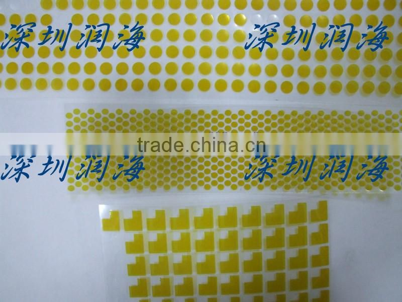 Polyimide film Mylar sheet/ yellow/green insulation tape