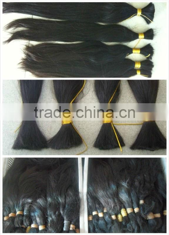 unprocessed virgin human hair wo tone hair extension in china