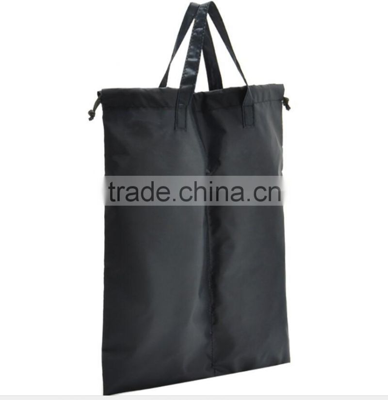 Shoe Bag Use Custom Logo Polyester Material High Quality Drawstring Bags