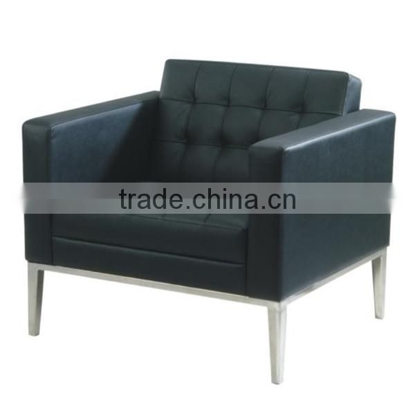 Imported leather sofa one seat