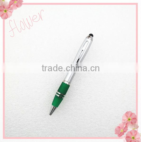 TP-2204 cheap 2 in1 touch pen for laptop ipad , Multi-founction promotional stylus pen