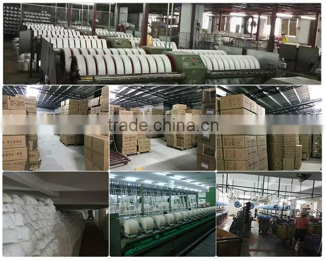 100%Raw White Recycled Polyester Staple Fiber