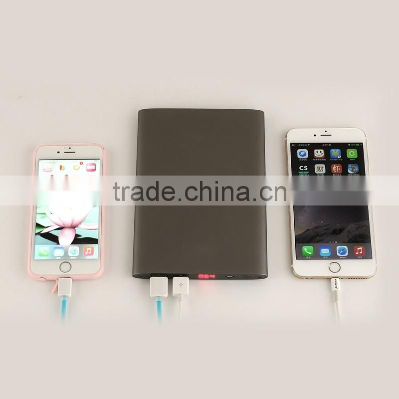 New gadget portable ultra slim power bank 20000mah external mobile charger